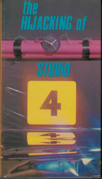The Hijacking Of Studio 4 (1985) - Bill Boyle  VHS
