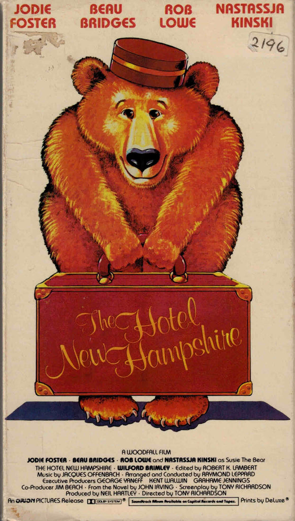 The Hotel New Hampshire (1984) - Jodie Foster  VHS