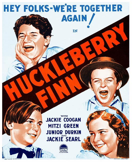 Huckleberry Finn (1931) - Jackie Coogan  DVD