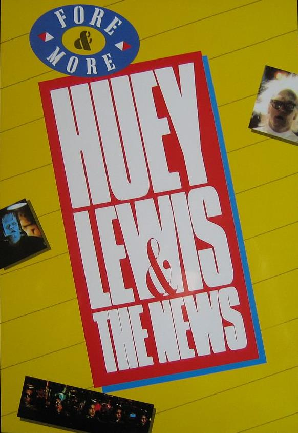 Huey Lewis & The News - Fore & More  DVD