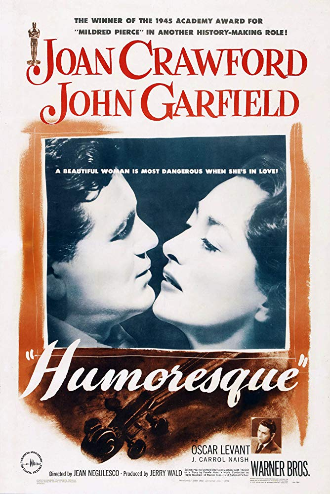Humoresque (1946) - Joan Crawford  DVD