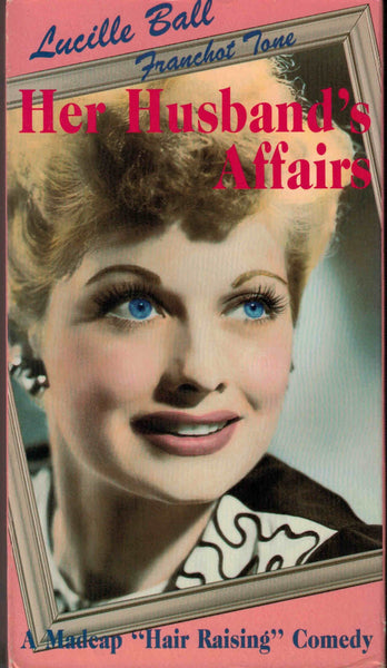 Her Husband´s Affairs (1947) - Lucille Ball  VHS