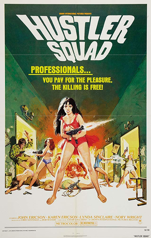 Hustler Squad AKA The Dirty Half Dozen (1976) - John Ericson  DVD