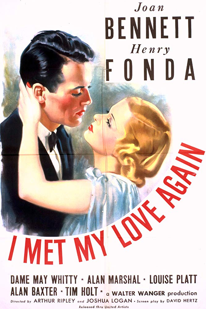 I Met My Love Again (1938) - Henry Fonda  DVD