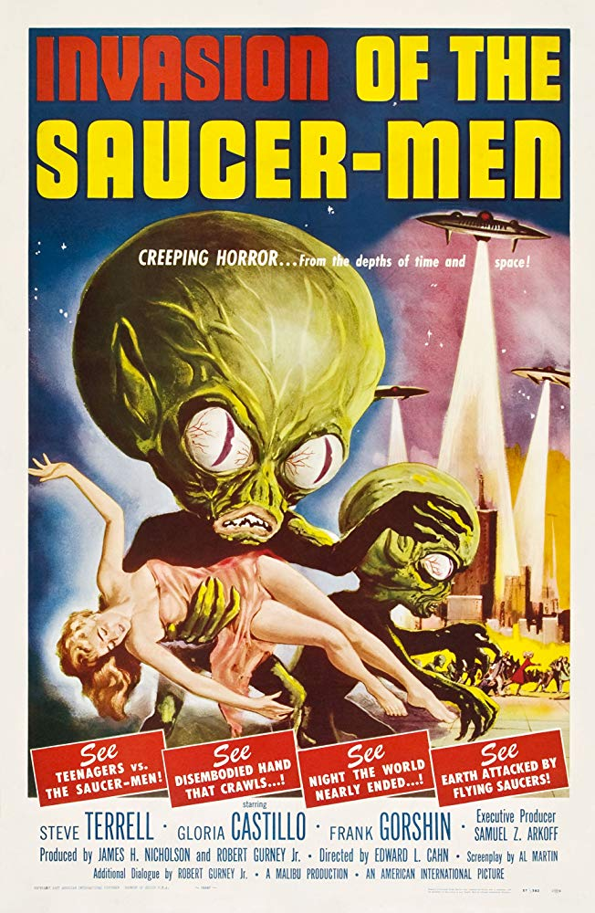 Invasion Of The Saucer Men (1957) - Steven Terrell
