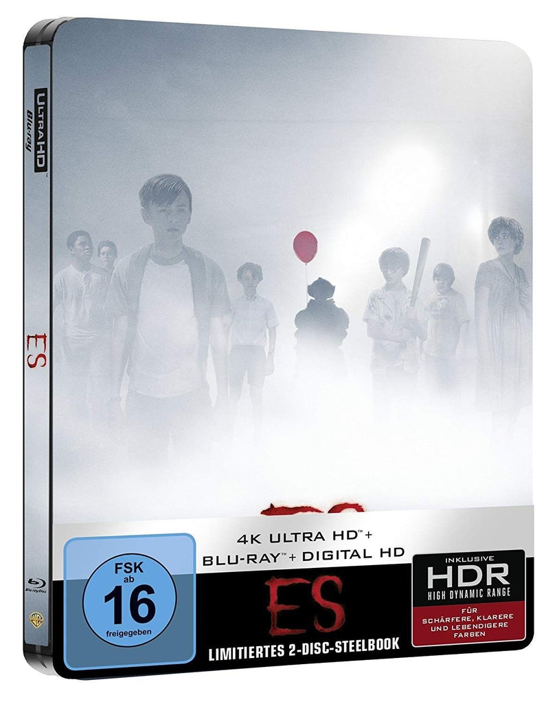 It (2017) - Jaeden Lieberherr  4K Ultra HD + Blu-ray Disc, Steelbook