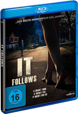 It Follows (2014) - Keir Gilchrist  Blu-ray