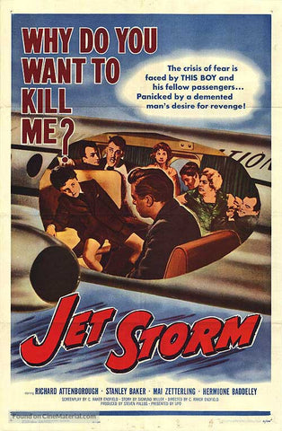 Jet Storm (1959) - Richard Attenborough  DVD