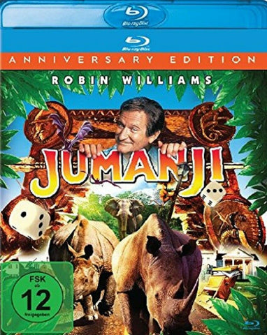 Jumanji : Anniversary Edition (1995) - Robin Williams  Blu-ray