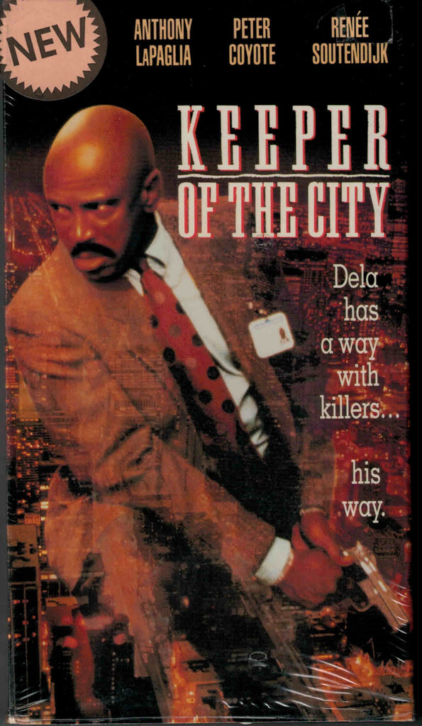Keeper Of The City (1991) - Louis Gossett Jr.  VHS
