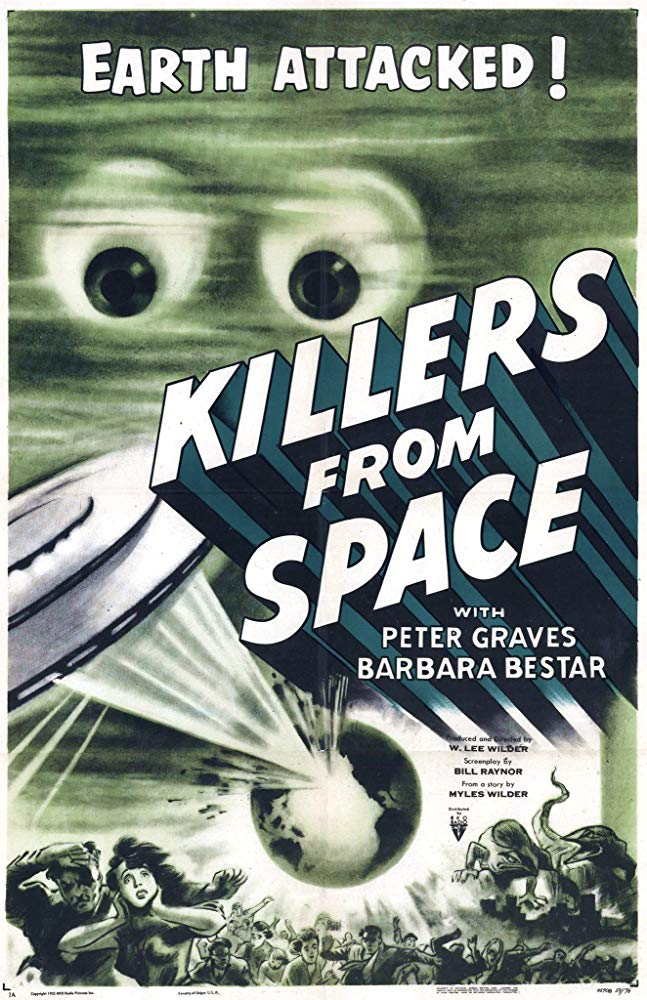 Killers From Space (1954) - Peter Graves  DVD