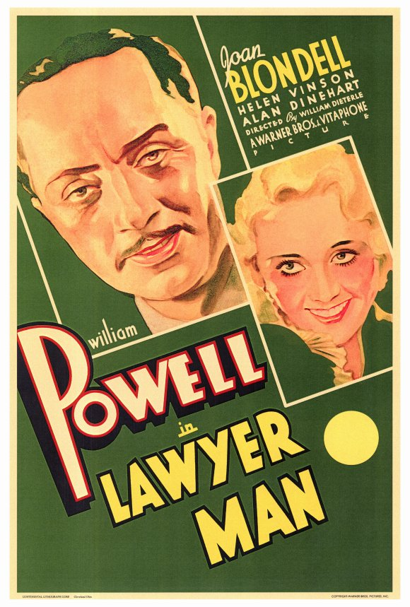 Lawyer Man (1932) - William Powell  DVD
