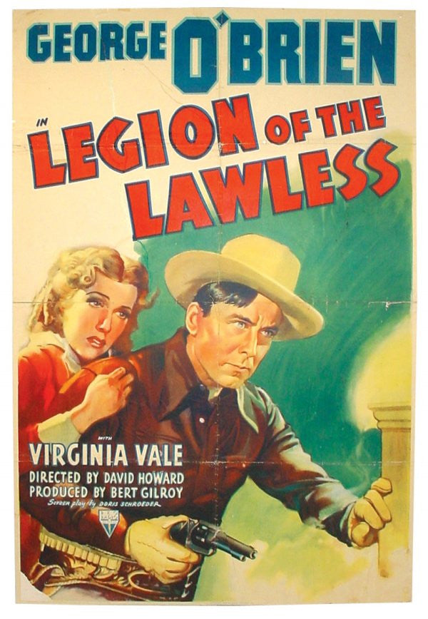 Legion Of The Lawless (1940) - George O´Brien  DVD