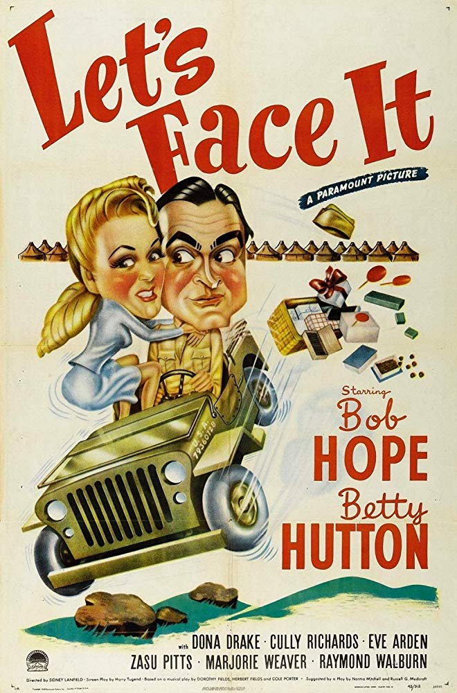 Let´s Face It (1943) - Bob Hope  DVD