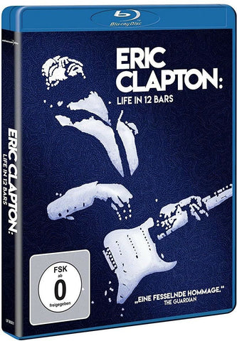 Eric Clapton : Life In 12 Bars (2017)  Blu-ray