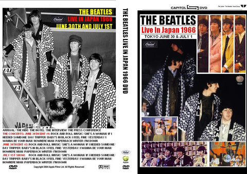 The Beatles - Live At Budokan & Shea Stadium DVD