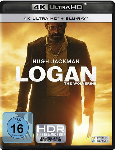 Logan (2017) - Hugh Jackman  4K Ultra HD + Blu-ray