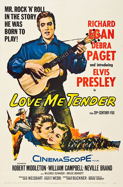 Love Me Tender (1956) - Color Version  DVD