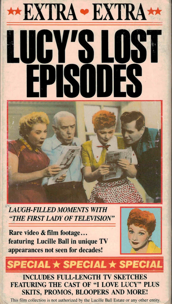 Lucy´s Lost Episodes - Lucille Ball  VHS