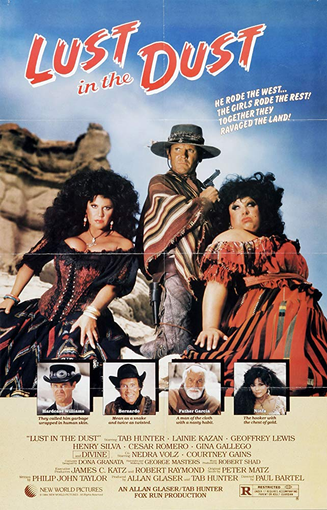 Lust In The Dust (1984) - Tab Hunter  DVD