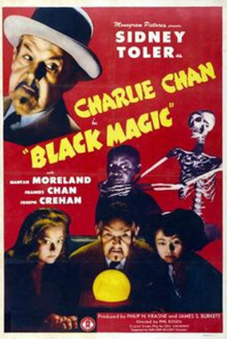 Charlie Chan : Meeting At Midnight AKA Black Magic (1944) - Sidney Toler  DVD