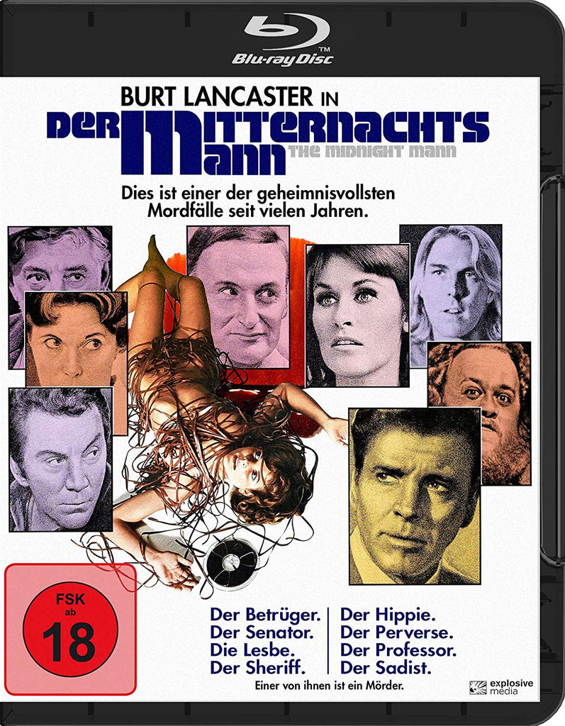 The Midnight Man (1974) - Burt Lancaster  Blu-ray