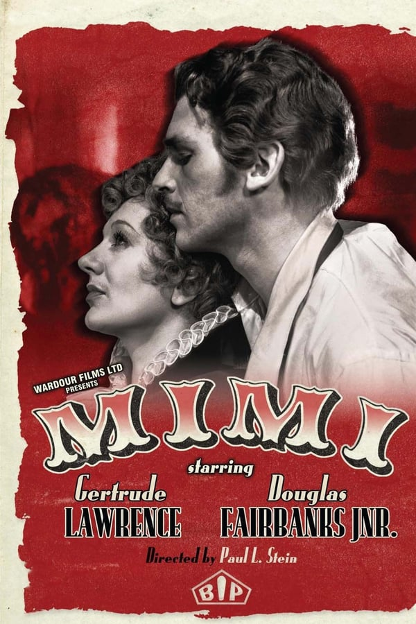 Mimi (1935) - Douglas Fairbanks Jr.  DVD