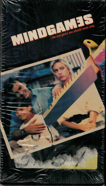 Mind Games (1989) - Maxwell Caulfield  VHS