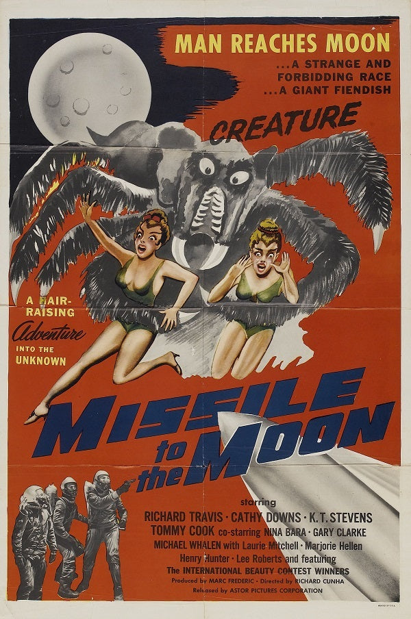 Missile To The Moon (1958) - Richard Travis  Color Version  DVD
