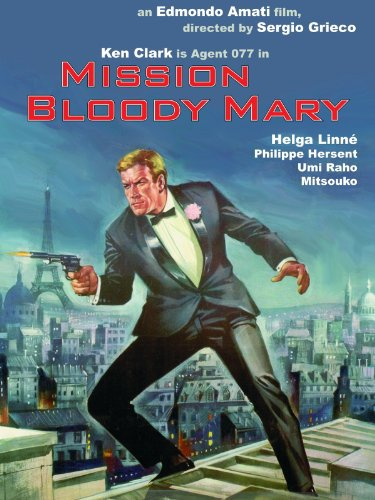 Agent 077 : Mission Bloody Mary (1965) - Ken Clark  DVD
