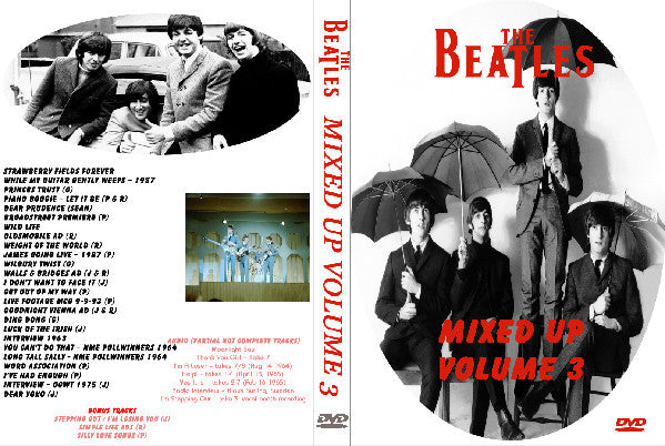 The Beatles - Mixed Up Volume 3 DVD
