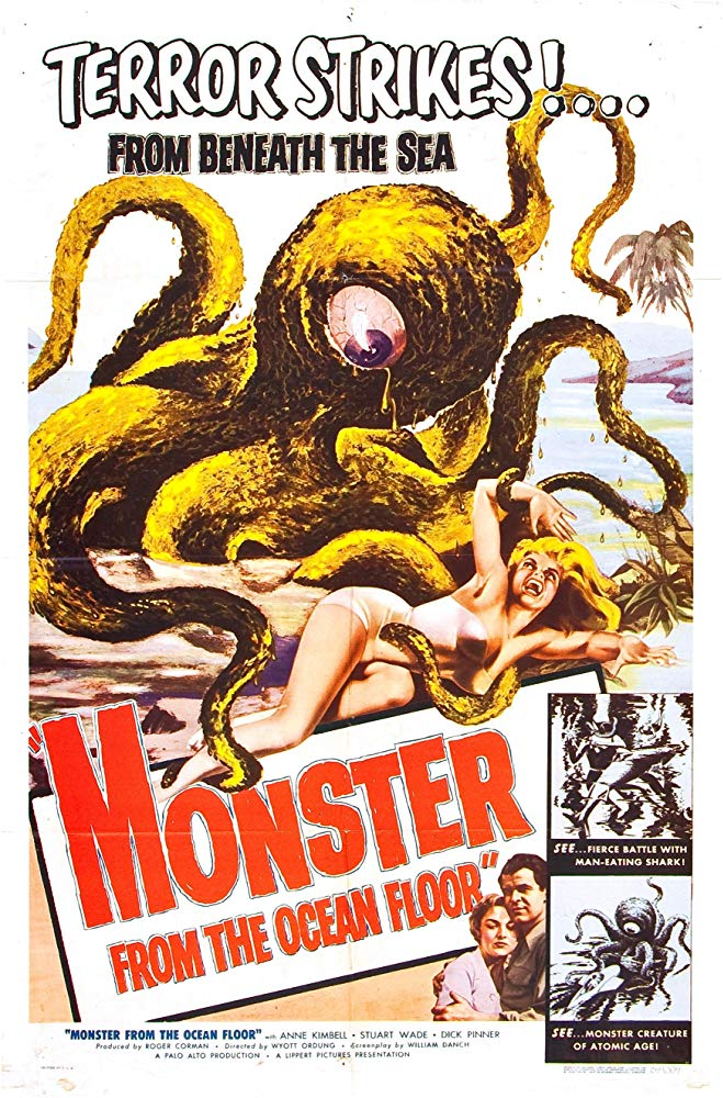 Monster From The Ocean Floor (1954) - Anne Kimbell  DVD