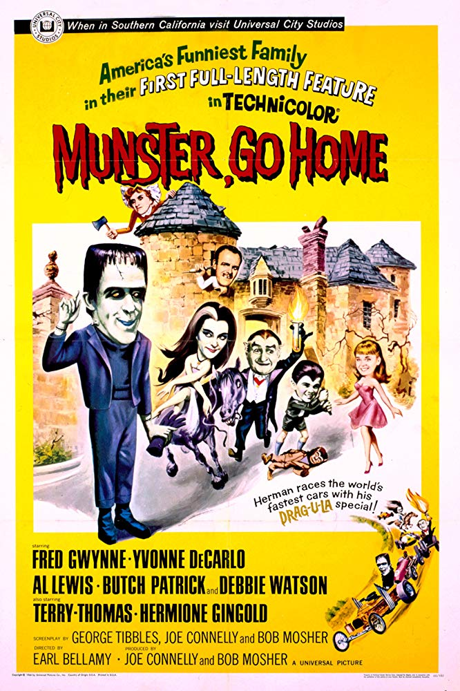 Munster, Go Home (1966) - Fred Gwynne  DVD