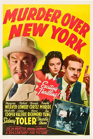 Charlie Chan : Murder Over New York (1940) - Sidney Toler  DVD
