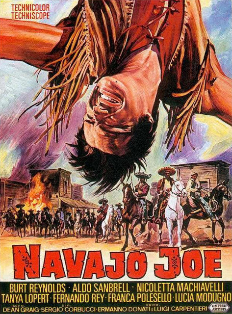 Navajo Joe (1966) - Burt Reynolds  DVD