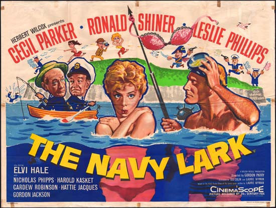 The Navy Lark (1959) DVD