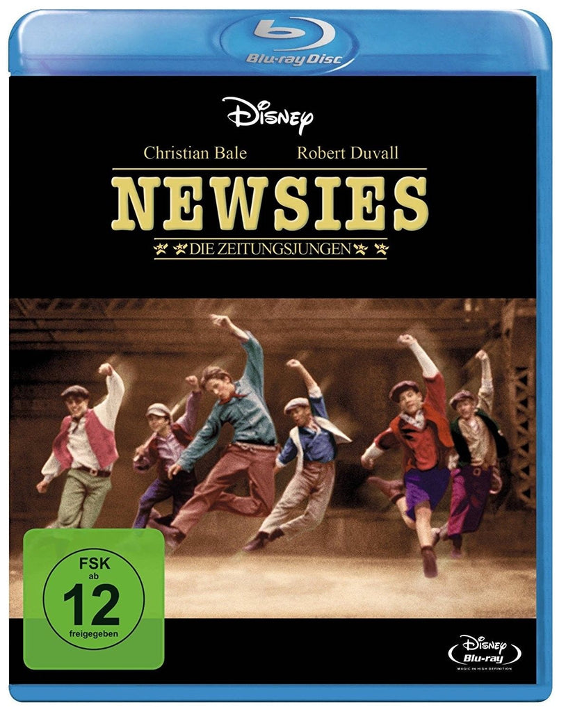 Newsies (1992) - Christian Bale  Blu-ray