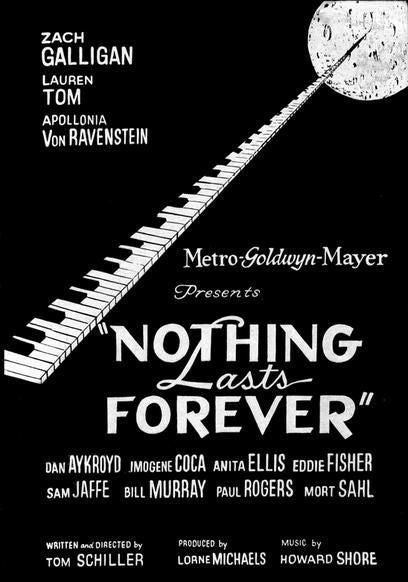 Nothing Lasts Forever (1984) - Zach Galligan  DVD