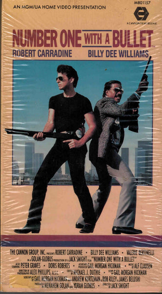 Number One With A Bullet (1987) - Robert Carradine  VHS