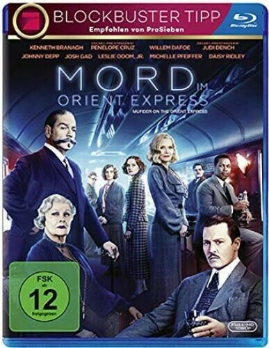Murder On The Orient Express (2017) - Kenneth Branagh  Blu-ray