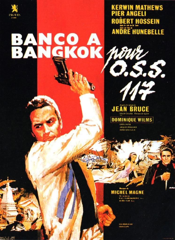 OSS 117 : Panic In Bangkok (1964) - Kerwin Mathews  DVD