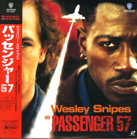 Passenger 57 (1992) - Wesley Snipes  Japan LD Laserdisc with OBI