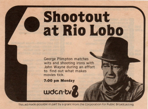 Plimpton ! Shoot-Out at Rio Lobo (1970)  DVD