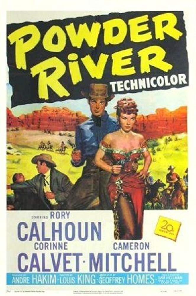 Powder River (1953) - Rory Calhoun  DVD