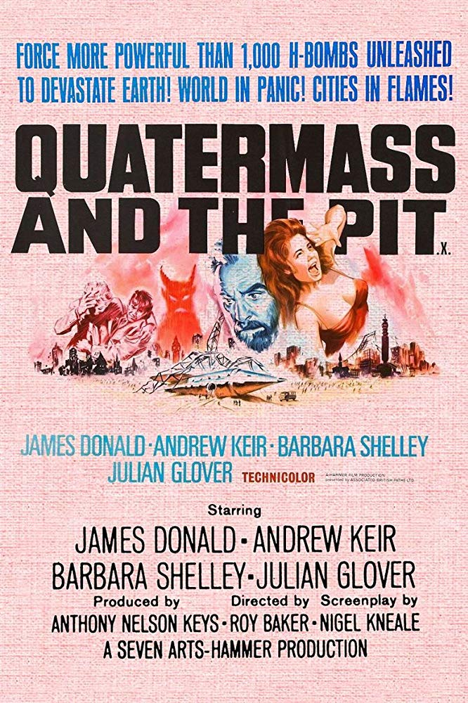 Five Million Years To Earth AKA Quatermass And The Pit (1967) DVD