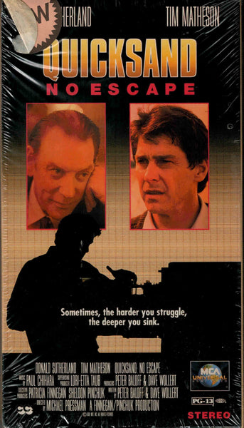 Quicksand : No Escape (1992) - Donald Sutherland  VHS