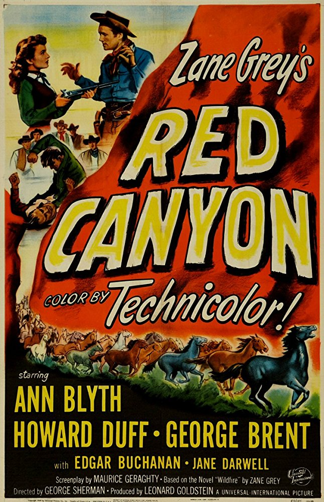 Red Canyon (1949) - Edgar Buchanan  DVD