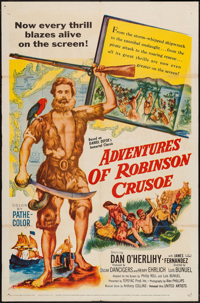 Adventures Of Robinson Crusoe (1954) - Dan O´Herlihy  DVD