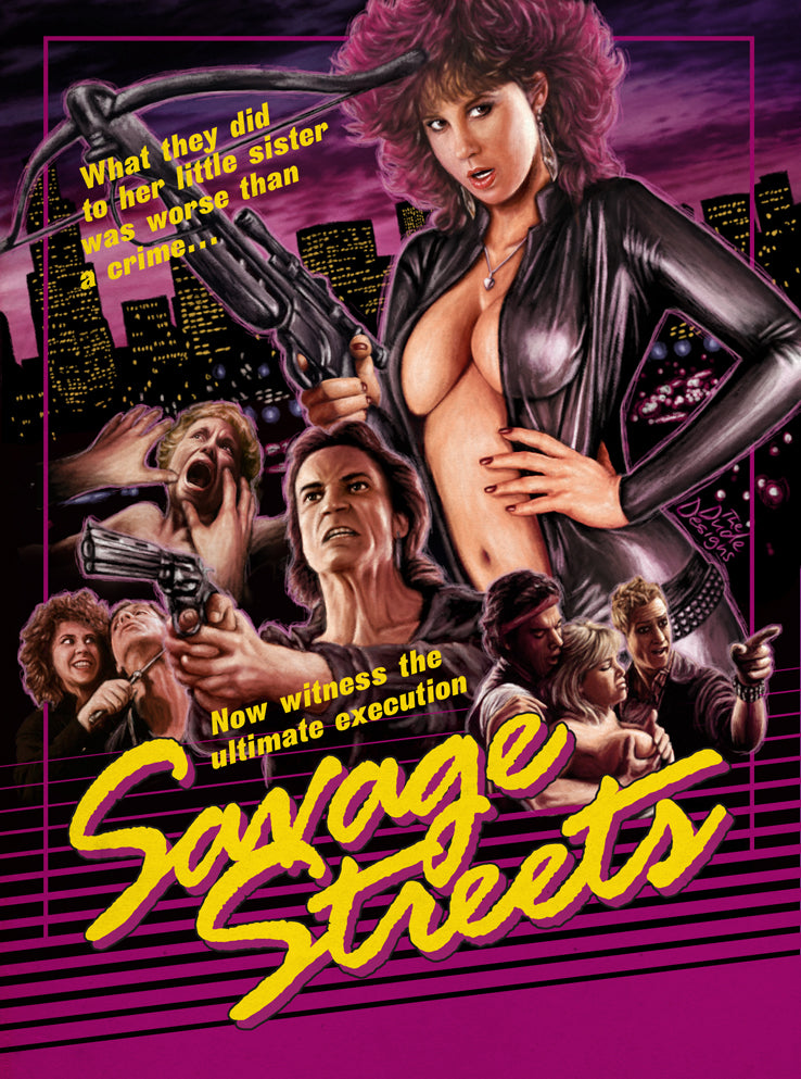 Savage Streets (1984) - Linda Blair DVD – Elvis DVD Collector & Movies Store