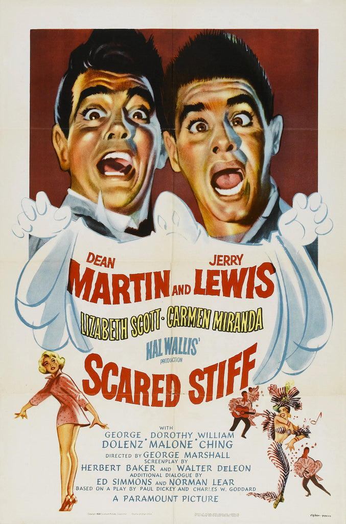 Scared Stiff (1953) - Jerry Lewis